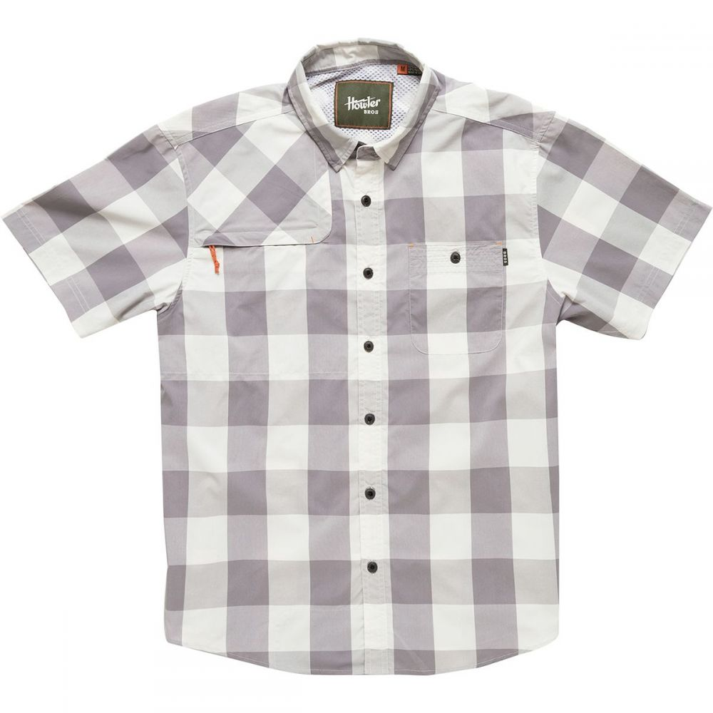 ホウラーブラザーズ Howler Brothers メンズ トップス 半袖シャツ【Matagorda Shirts】Walston Plaid/Touch Of Greys