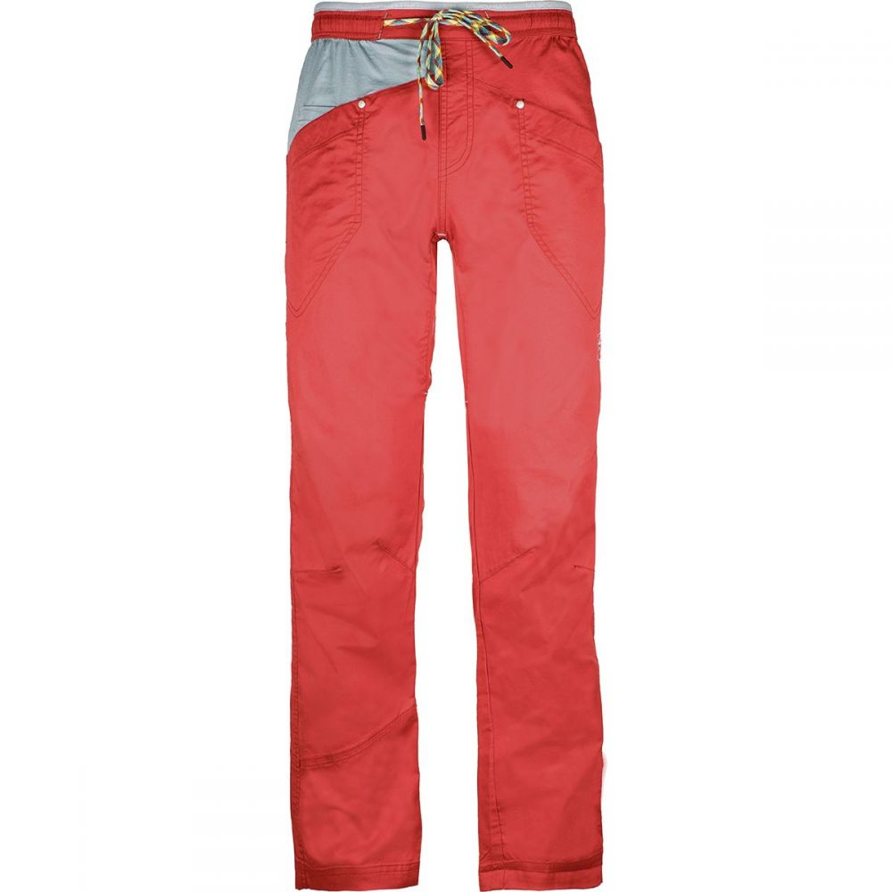 ラスポルティバ La Sportiva メンズ ハイキング・登山 ボトムス・パンツ【Bolt Pants】Cardinal Red/Stone Blue
