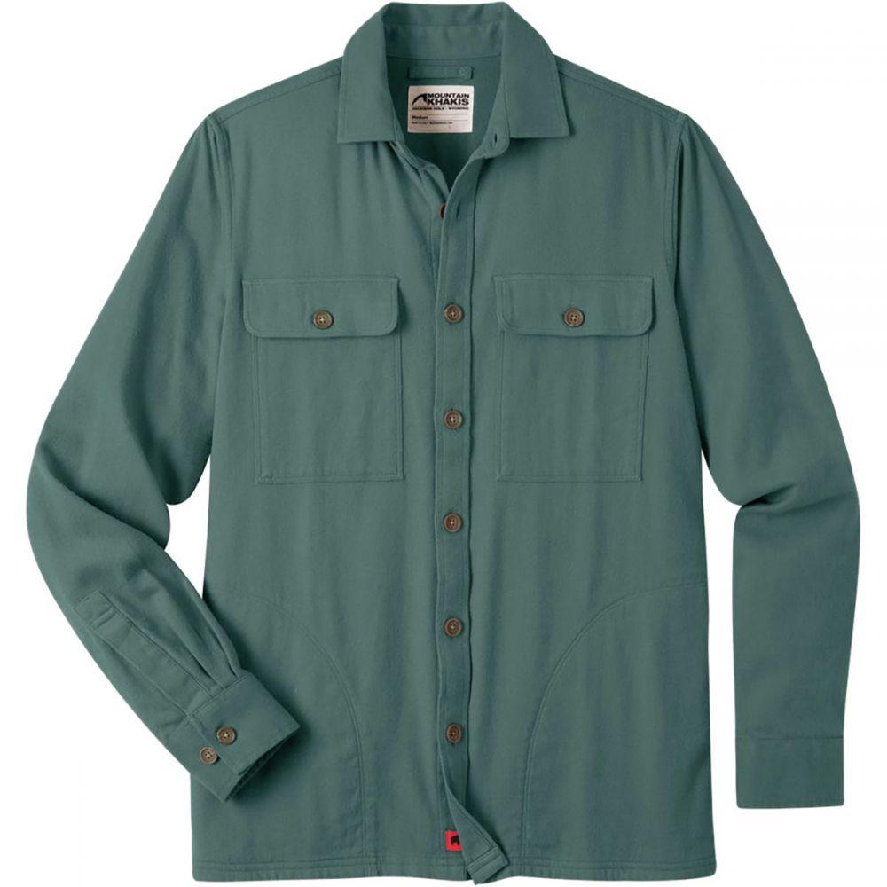 マウンテンカーキス Mountain Khakis メンズ トップス シャツ【Patrol Overshirts】Wintergreen