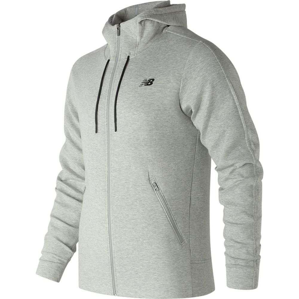 ニューバランス New Balance メンズ トップス フリース【247 Luxe Full - Zip Fleece Jackets】Athletic Grey