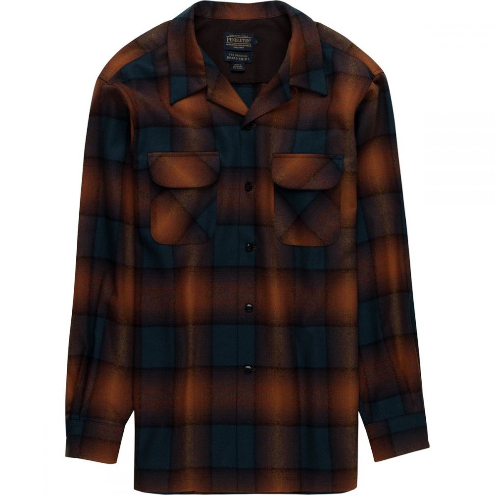 ペンドルトン Pendleton メンズ トップス シャツ【Board Shirts】Brown Copper Ombre