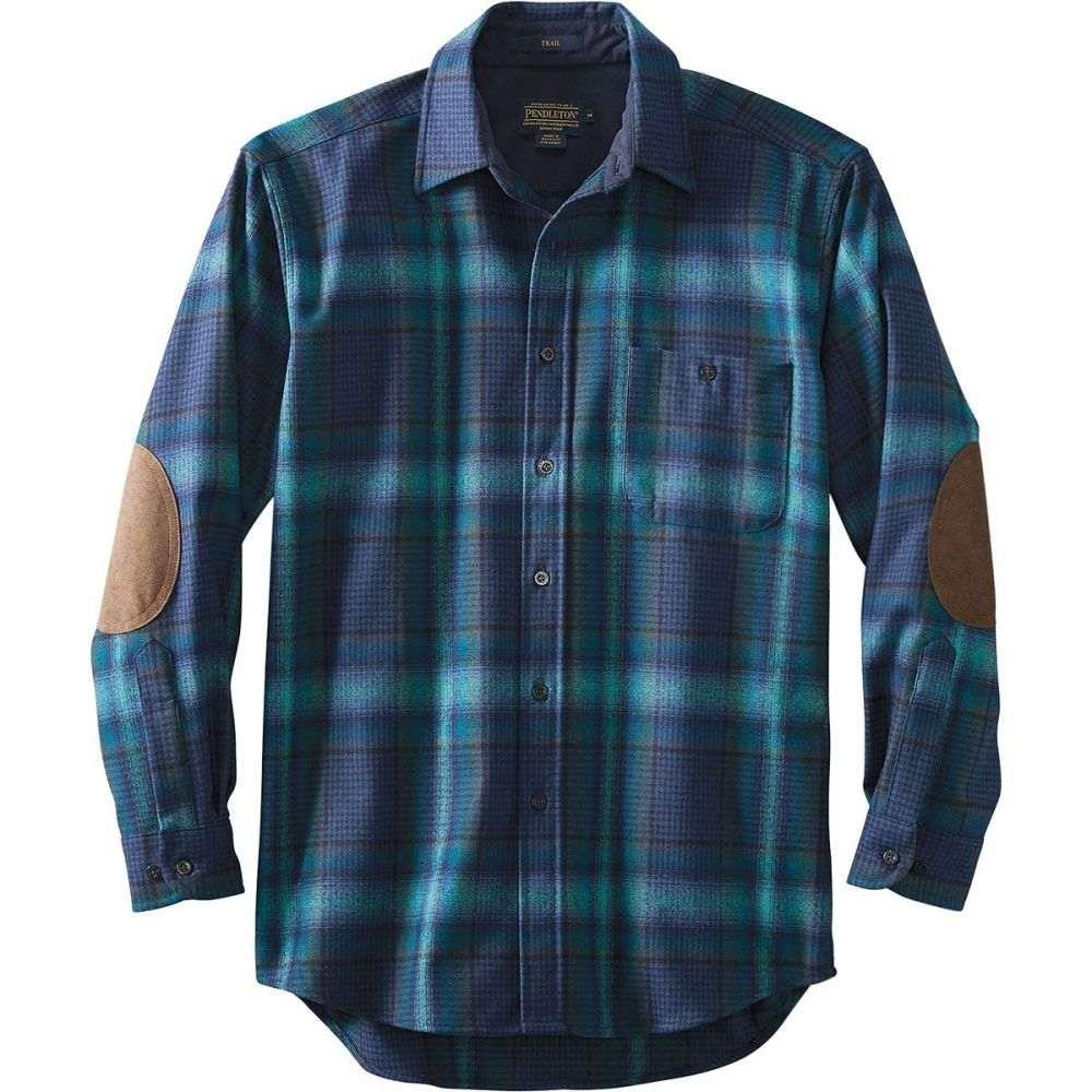 ペンドルトン Pendleton メンズ トップス シャツ【Trail Shirts】Blue/Teal Ombre