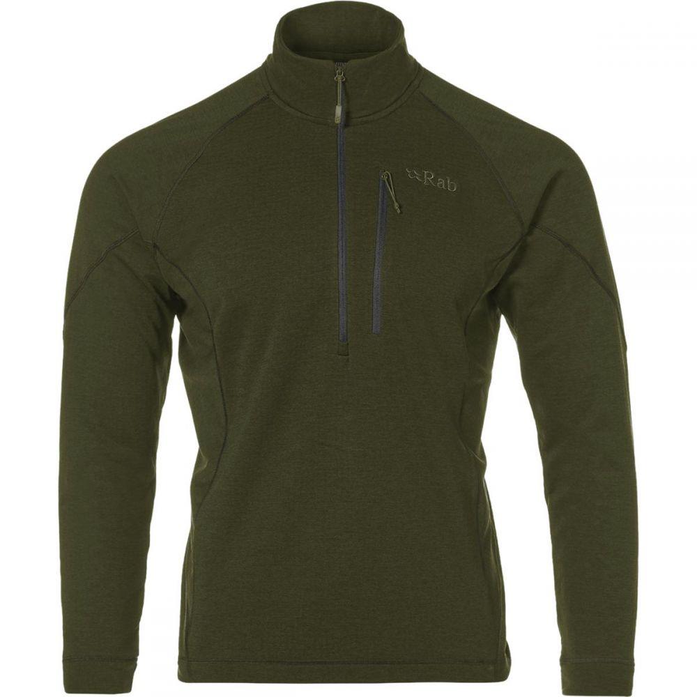 ラブ Rab メンズ トップス フリース【Nucleus Pull - On Fleece Jackets】Army