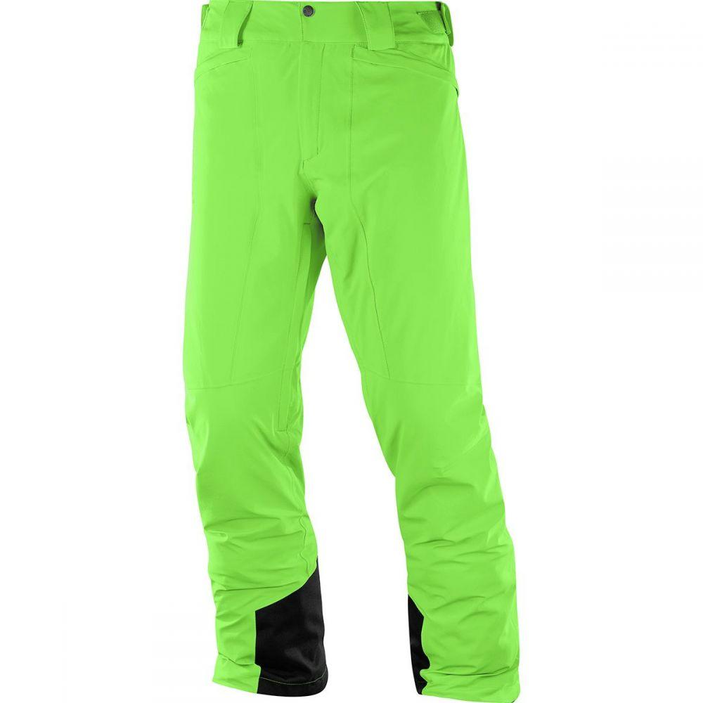 サロモン Salomon メンズ スキー・スノーボード ボトムス・パンツ【IceMania Pants】Greenery