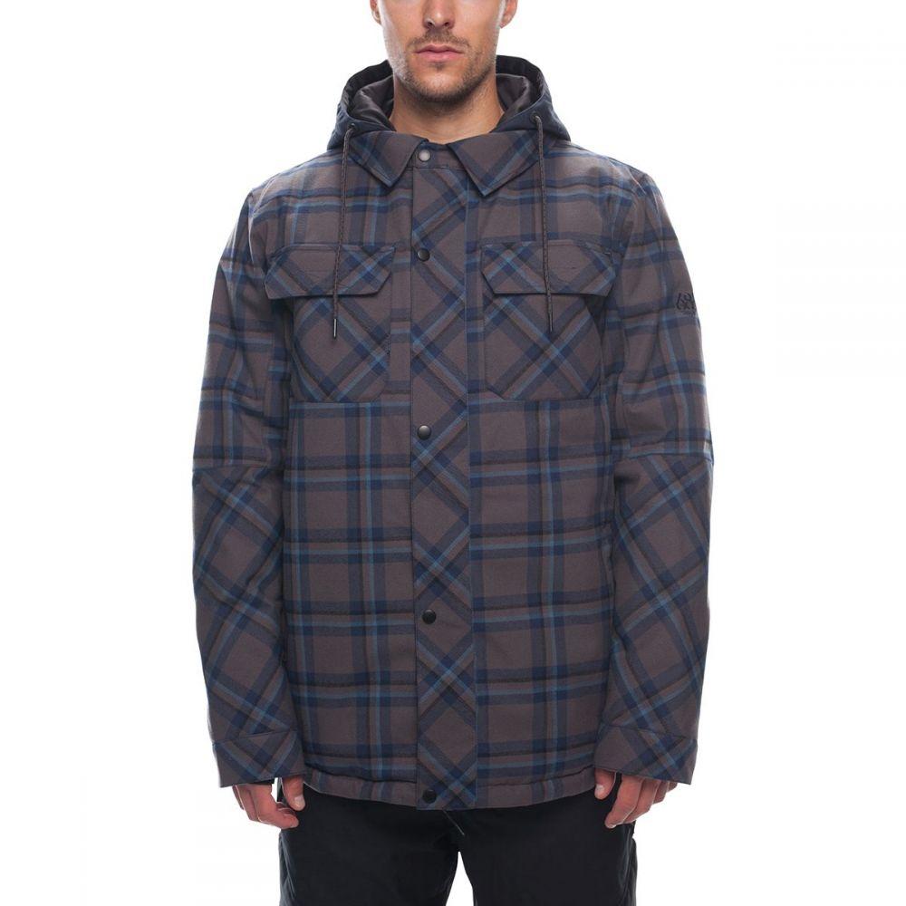 シックス エイト シックス 686 メンズ スキー・スノーボード アウター【Woodland Insulated Jackets】Charcoal Yarn Dye Plaid