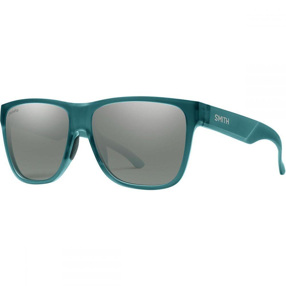 スミス Smith メンズ メガネ・サングラス【Lowdown XL 2 ChromaPop Polarized Sunglassess】Matte Crystal Deep Forest/Polarized Platinum