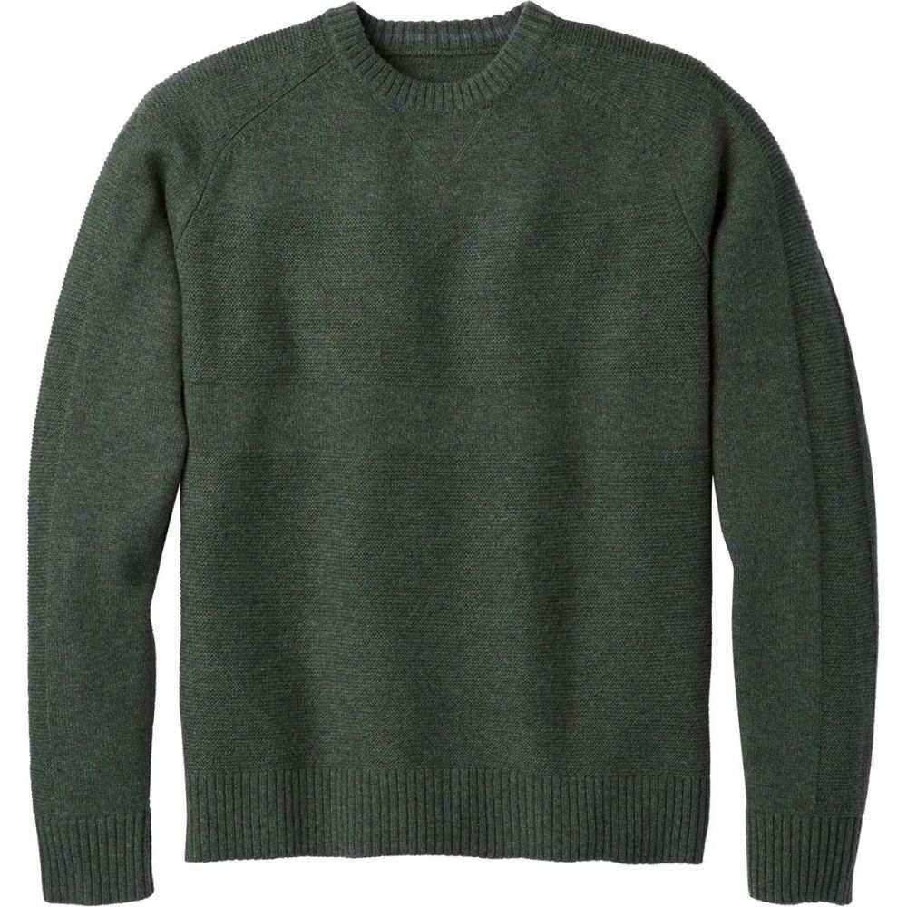 スマートウール Smartwool メンズ トップス ニット・セーター【Ripple Ridge Crew Sweaters】Scarab H/Medium Gray Heather