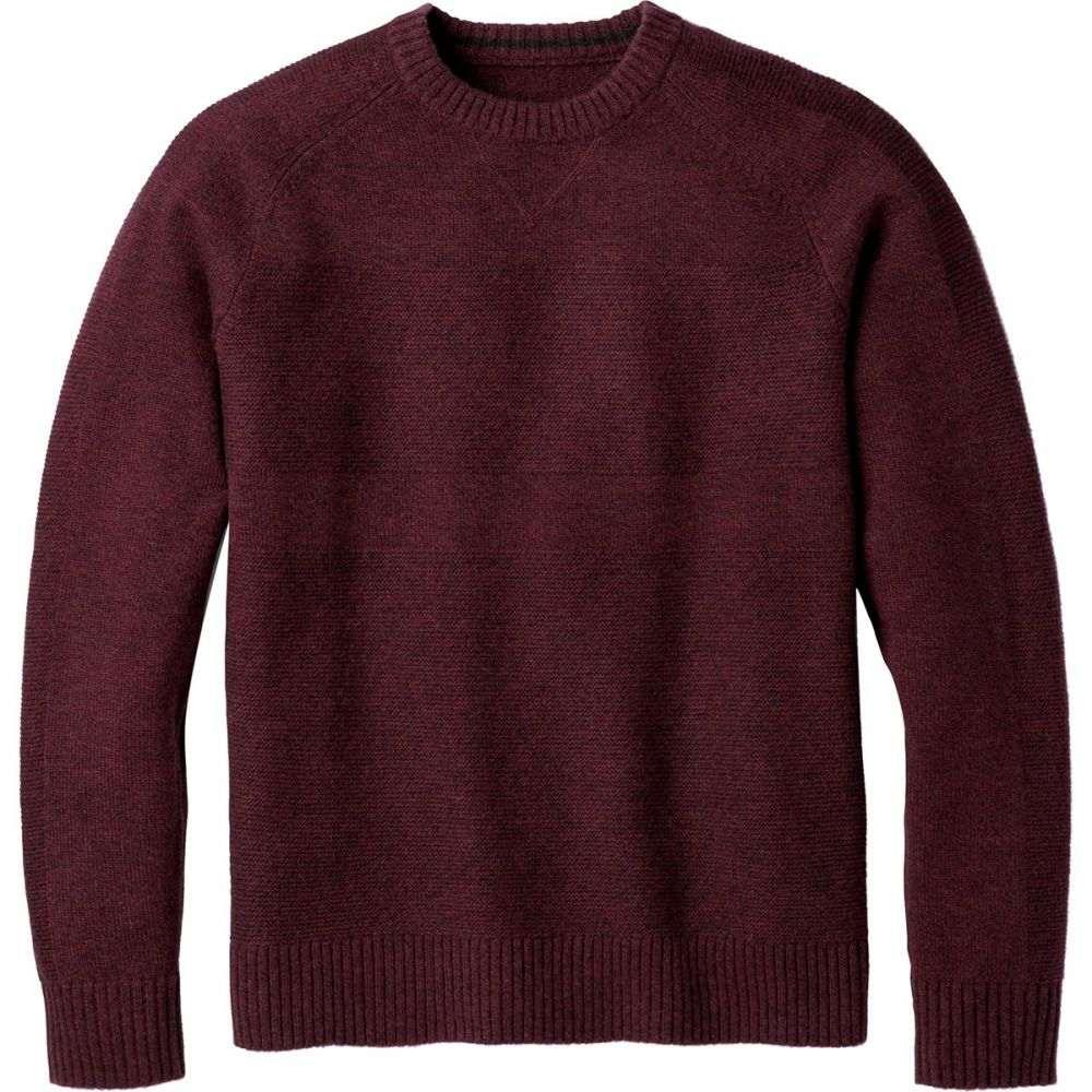 スマートウール Smartwool メンズ トップス ニット・セーター【Ripple Ridge Crew Sweaters】Tibetan Red H/Charcoal Heather