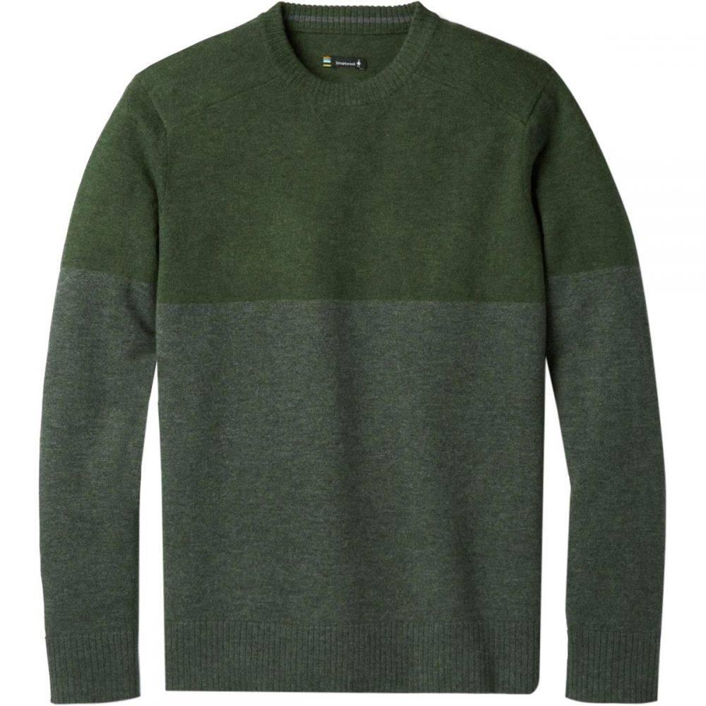 スマートウール Smartwool メンズ トップス ニット・セーター【Sparwood Colorblock Crew Sweaters】Scarab H