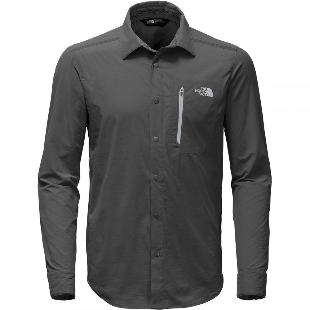 ザ ノースフェイス The North Face メンズ トップス シャツ【Alpenbro Long - Sleeve Woven Shirts】Asphalt Grey