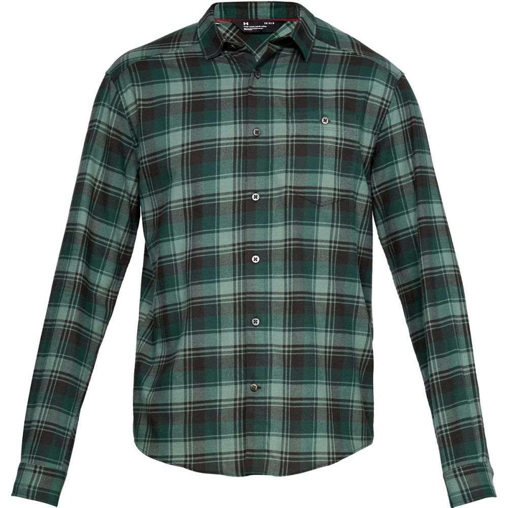 アンダーアーマー Under Armour メンズ トップス シャツ【Tradesman Flannel Shirts】Artillery Green/Artillery Green/Ambush Plaid