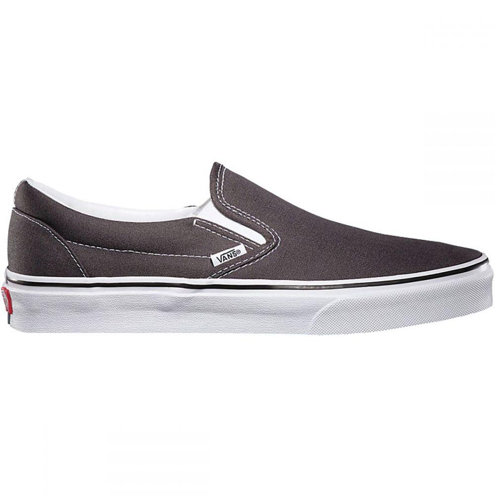 ヴァンズ Vans メンズ シューズ・靴 スリッポン・フラット【Classic Slip - On Shoes】Charcoal