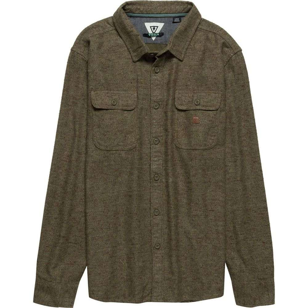 ヴィスラ Vissla メンズ トップス シャツ【Bayshore Flannel Shirts】Dark Olive