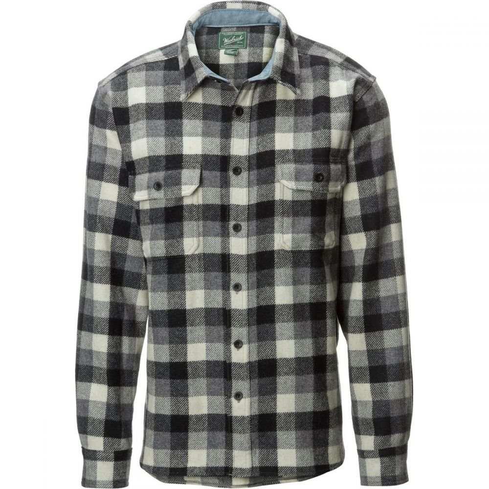 ウールリッチ Woolrich メンズ トップス シャツ【Wool Buffalo Flannel Shirts】Gray