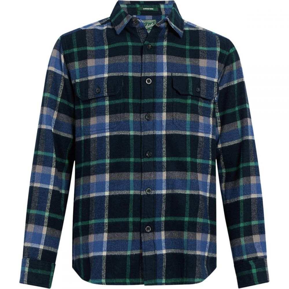 ウールリッチ Woolrich メンズ トップス シャツ【Oxbow Bend Modern Flannel Shirts】Deep Alpine Blue