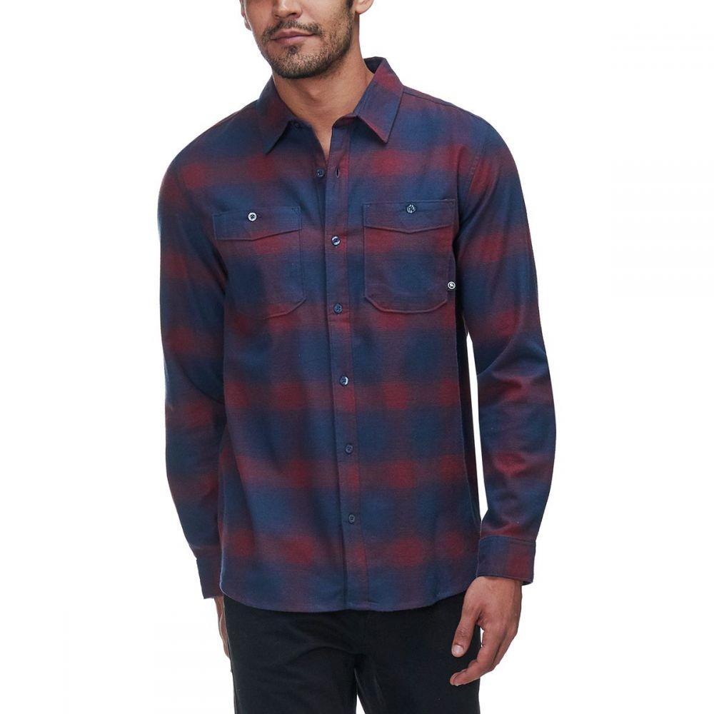 バックカントリー Backcountry メンズ トップス シャツ【Deer Creek Heavyweight Flannels】Navy Ombre