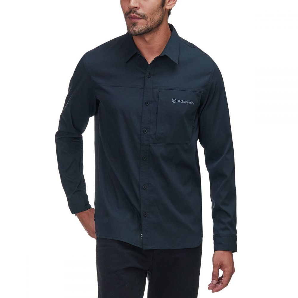 バックカントリー Backcountry メンズ トップス シャツ【Jordanelle Tech Shirts】Black