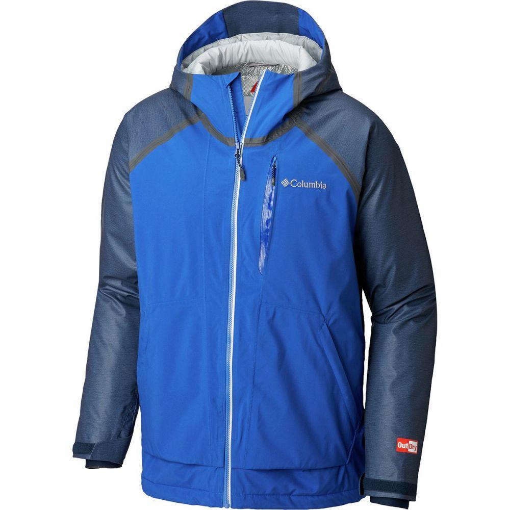 コロンビア Columbia メンズ スキー・スノーボード アウター【Outdry Glacial Hybrid Jackets】Collegiate Navy Heather/Azul