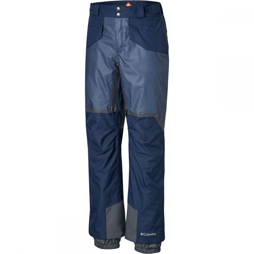 コロンビア Columbia メンズ スキー・スノーボード ボトムス・パンツ【Outdry Glacial Hybrid Pants】Collegiate Navy Heather/Collegiate Navy