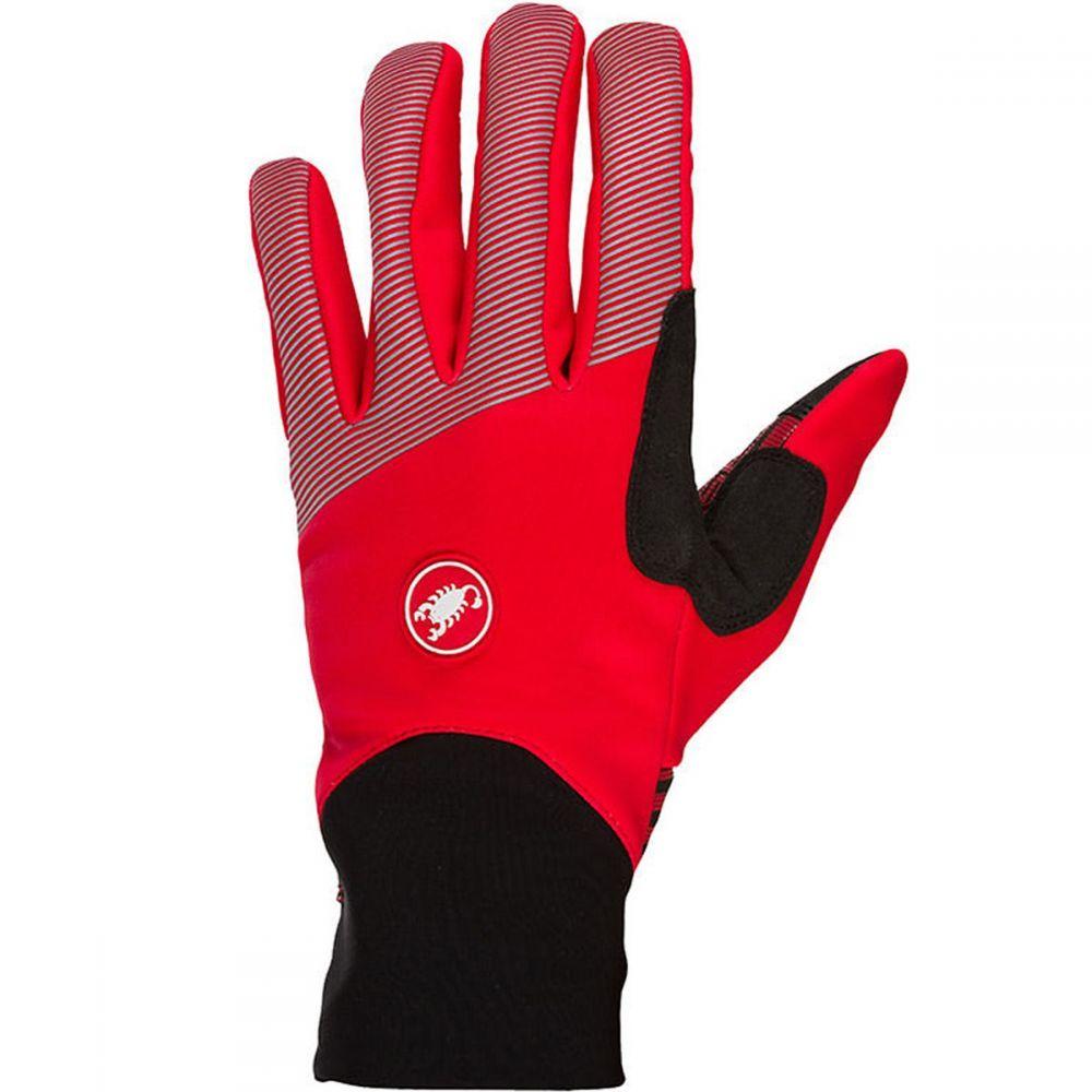カステリ Castelli メンズ 自転車 グローブ【Scalda Elite Gloves】Red