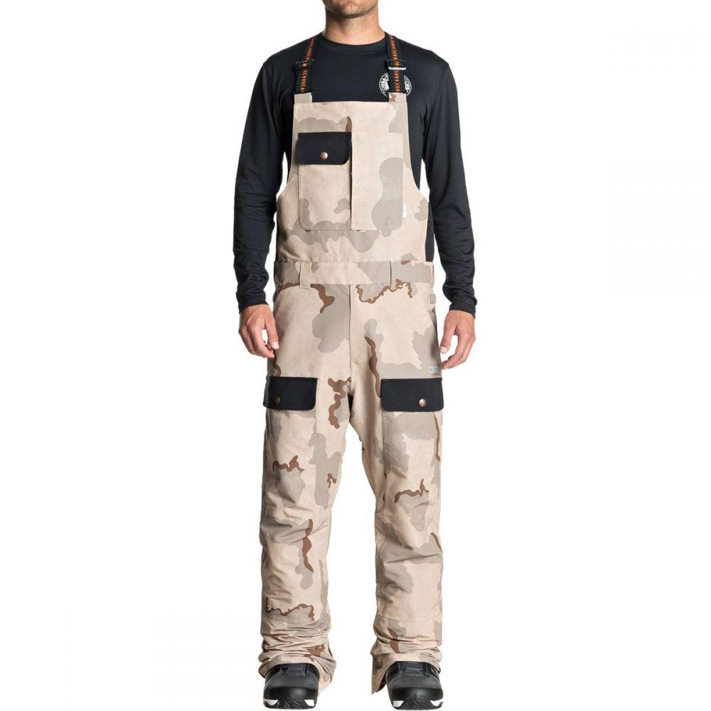 ディーシー DC メンズ スキー・スノーボード ボトムス・パンツ【Platoon Bib Pants】Incense Dcu Camo