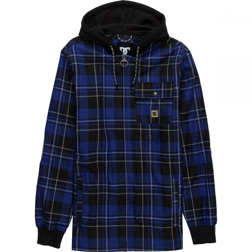 ディーシー DC メンズ トップス シャツ【Backwoods Insulated Flannel Shirts】Surf The Web Mill Plaid