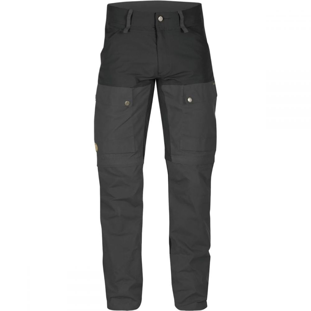 フェールラーベン Fjallraven メンズ ハイキング・登山 ボトムス・パンツ【Keb Gaiter Trousers】Black/Black