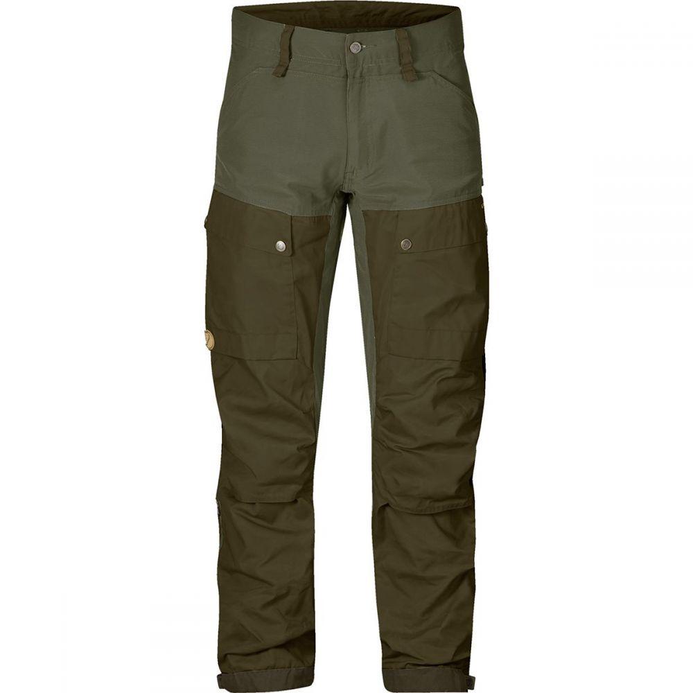 フェールラーベン Fjallraven メンズ ハイキング・登山 ボトムス・パンツ【Keb Trousers】Deep Forest/Laurel Green