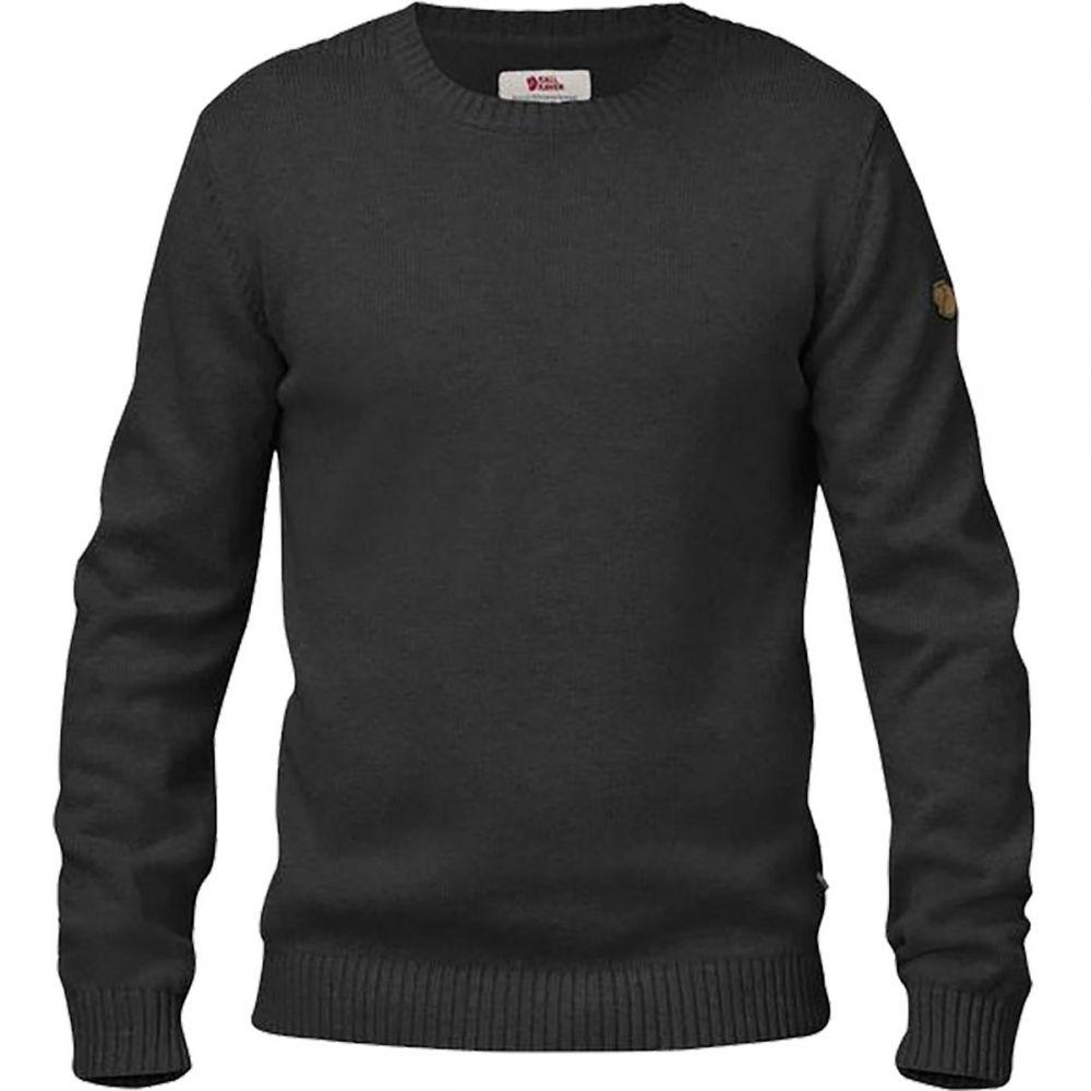 フェールラーベン Fjallraven メンズ トップス ニット・セーター【Ovik Knit Crew Sweaters】Dark Grey