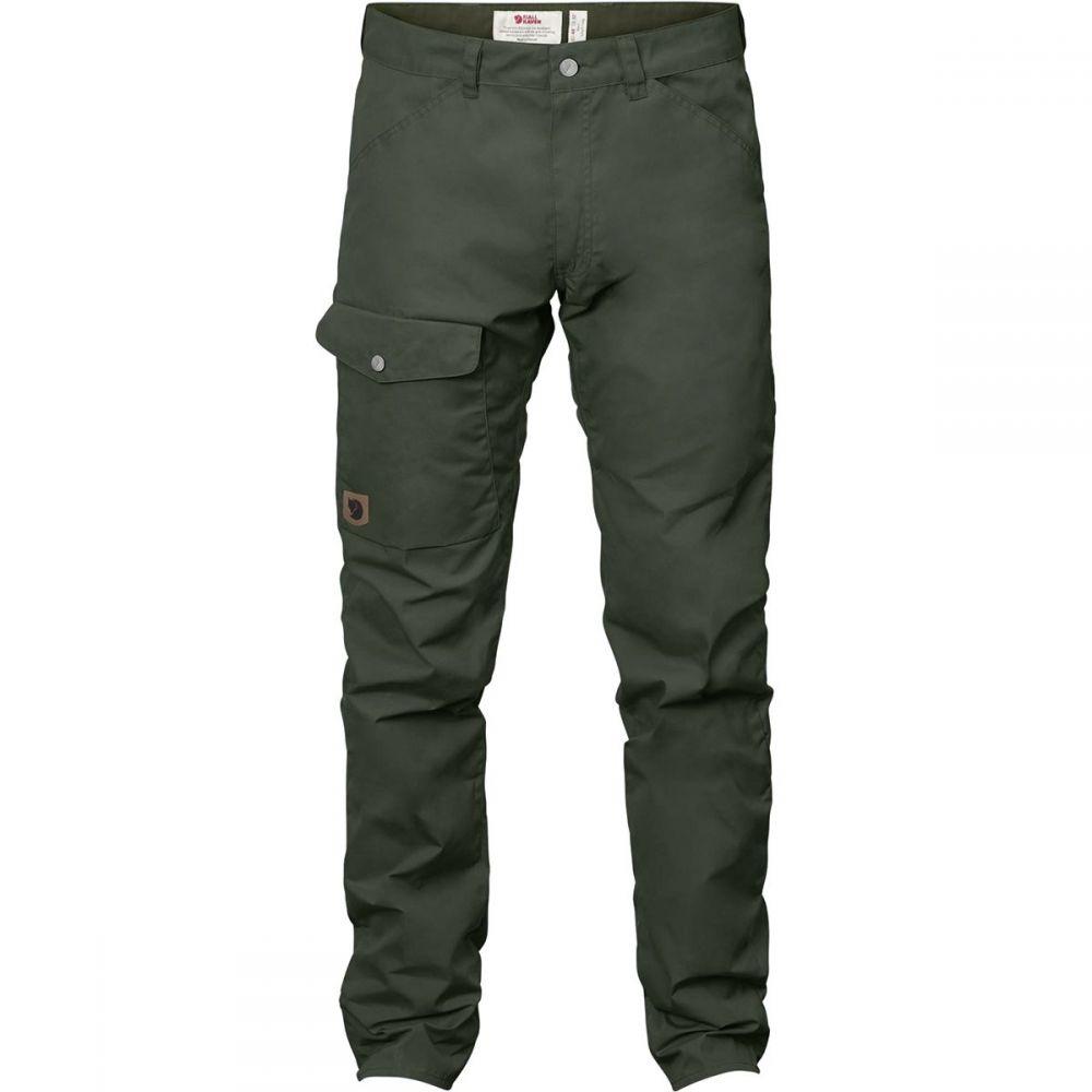 フェールラーベン Fjallraven メンズ ハイキング・登山 ボトムス・パンツ【Greenland Jeans】Deep Forest