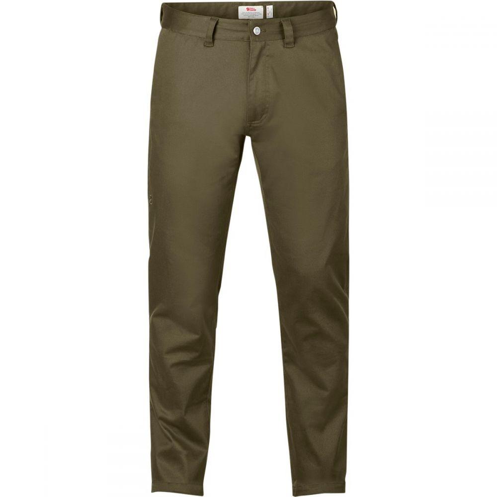 フェールラーベン Fjallraven メンズ ボトムス・パンツ【High Coast Stretch Long Trousers】Khaki