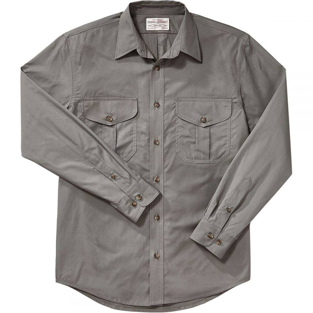 フィルソン Filson メンズ トップス シャツ【's Feather Cloth Long - Sleeve Shirts】Light Olive