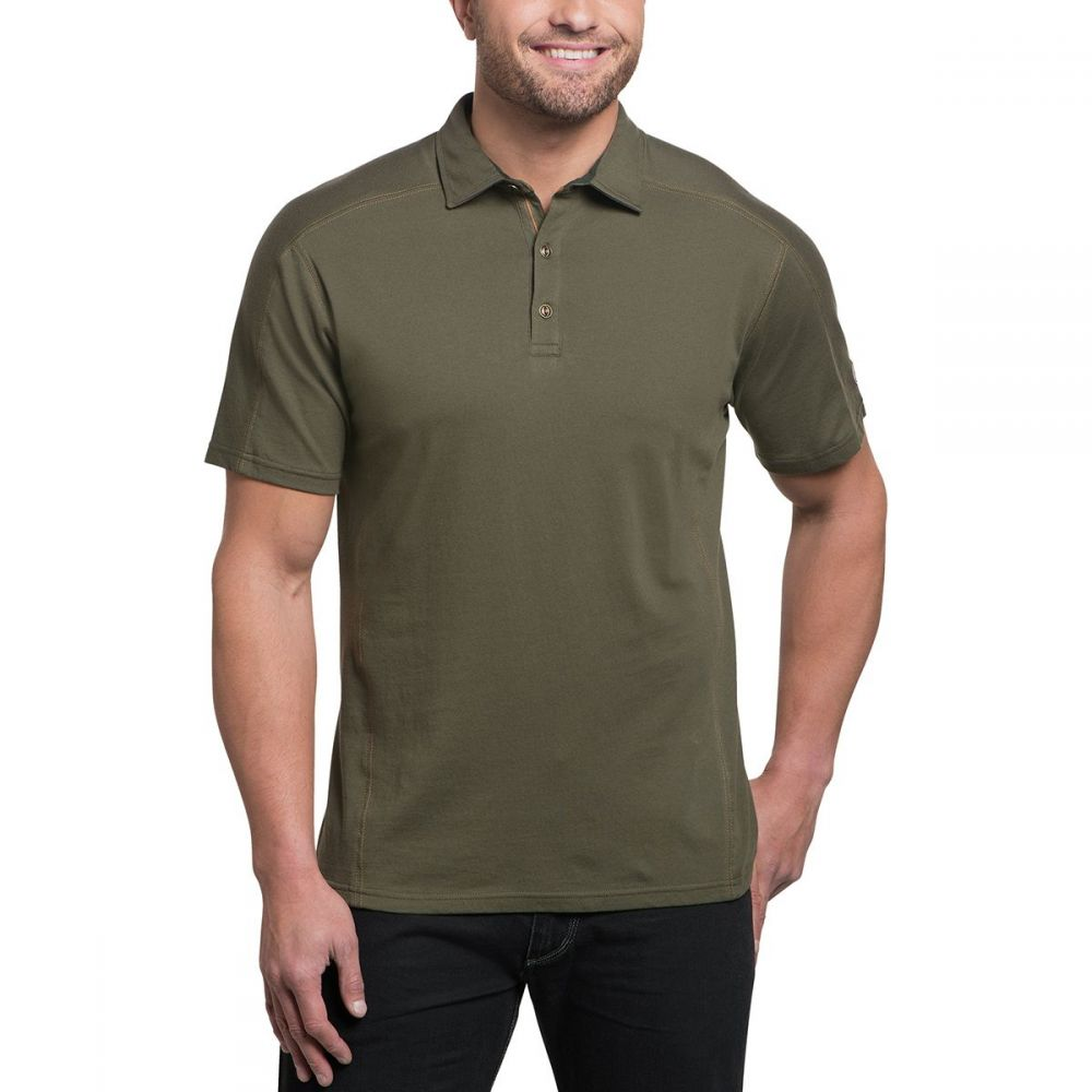 キュール KUHL メンズ トップス ポロシャツ【Wayfarer Shirts】Olive
