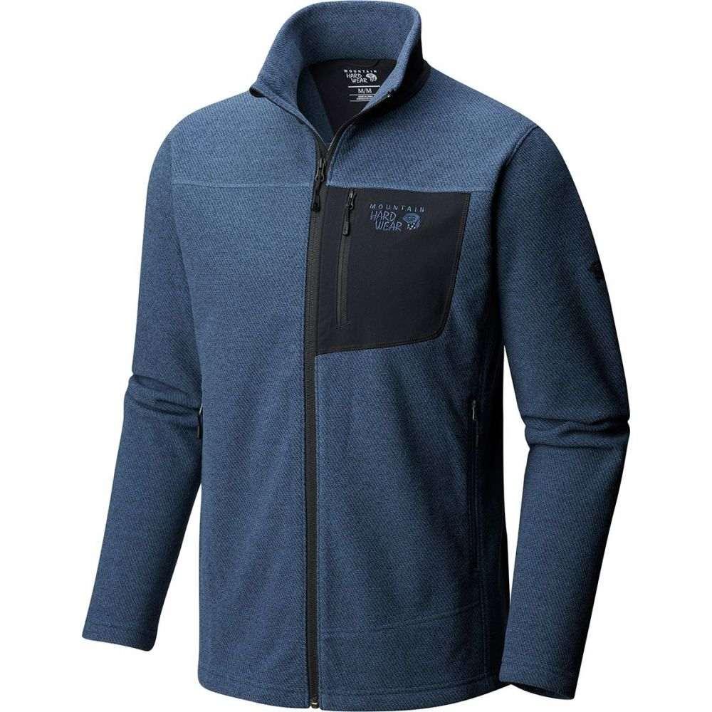 マウンテンハードウェア Mountain Hardwear メンズ トップス フリース【Toasty Twill Fleece Jackets】Zinc
