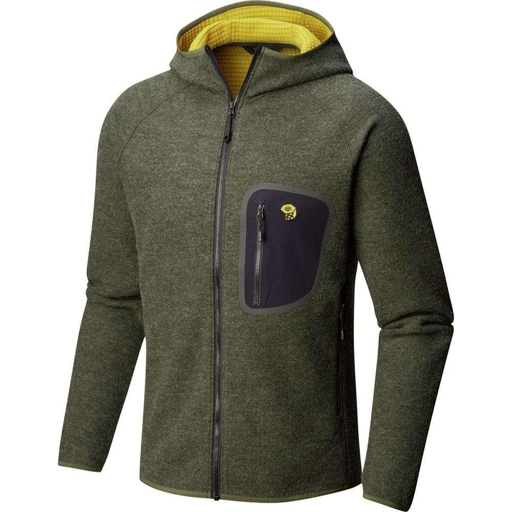 マウンテンハードウェア Mountain Hardwear メンズ トップス フリース【Hatcher Full - Zip Hoodies】Surplus Green