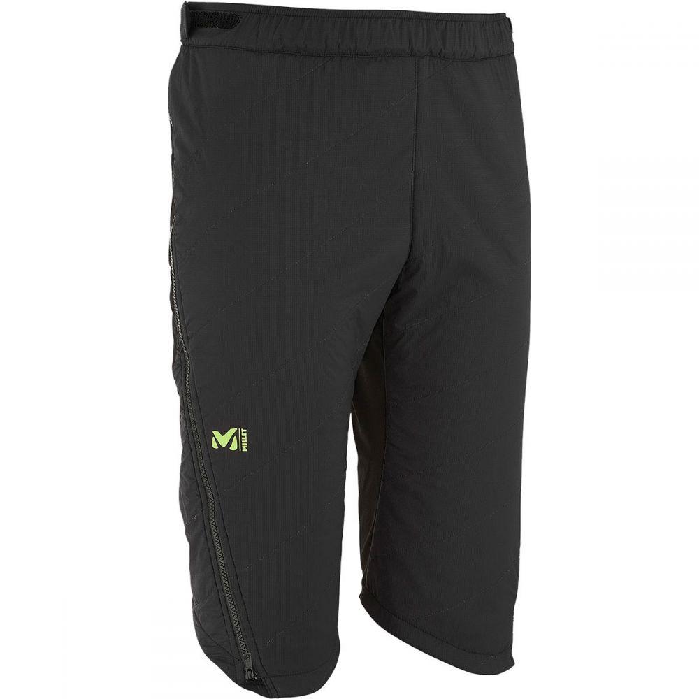 ミレー Millet メンズ ボトムス・パンツ【Pierra Ment' Alpha 3/4 Pants】Black - Noir