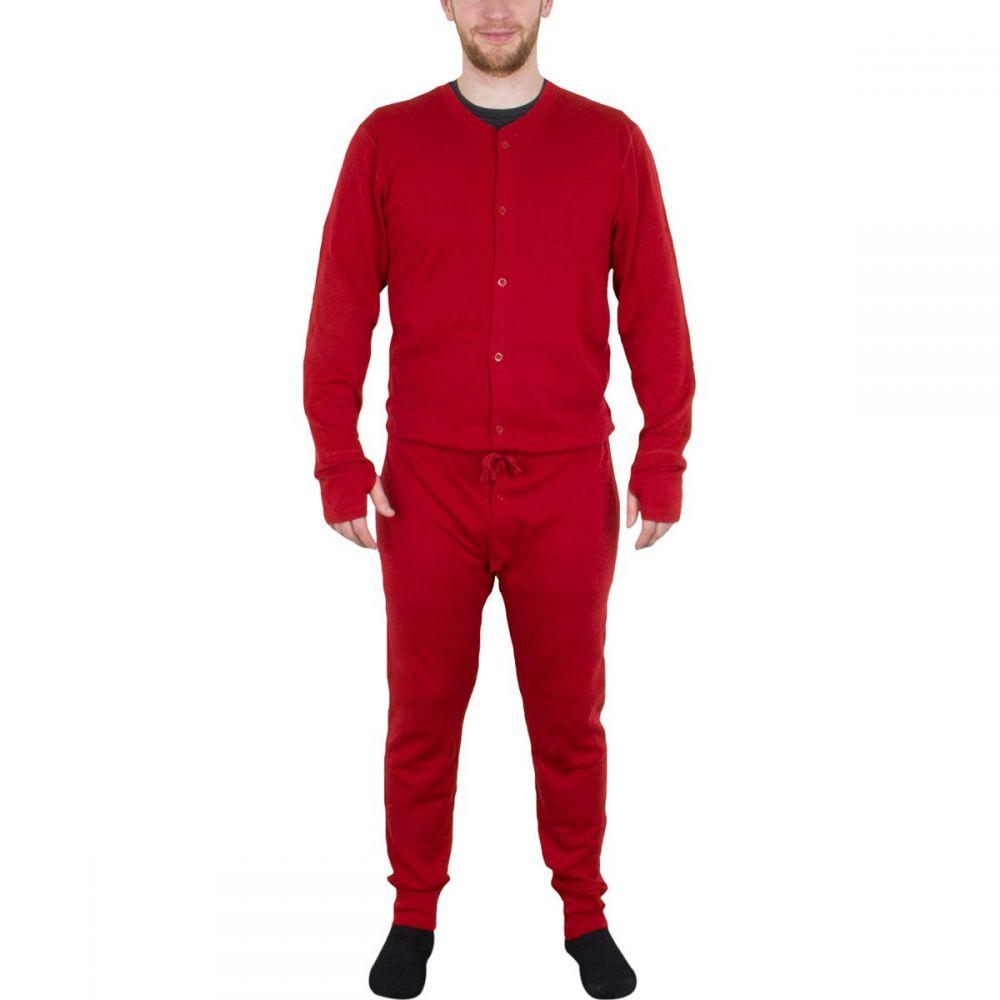 マイナスサーティスリー Minus 33 メンズ トップス ツナギ・オールインワン【Union Suits】True Red
