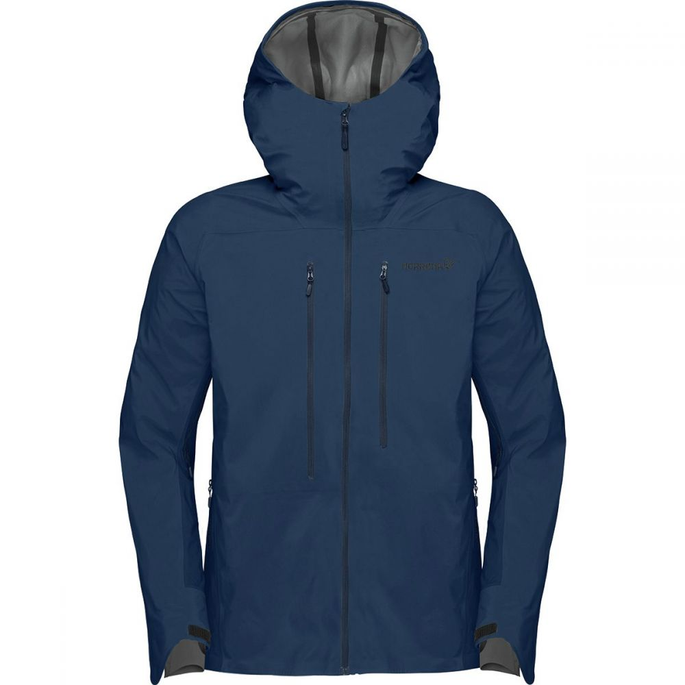 ノローナ Norrona メンズ スキー・スノーボード アウター【Lyngen Windstopper Hybrid Jackets】Indigo Night