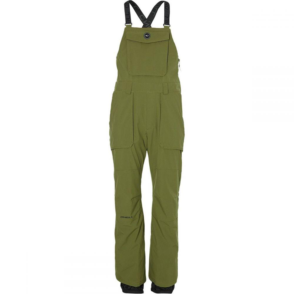オニール O'Neill メンズ スキー・スノーボード ボトムス・パンツ【Shred Bib Pants】Winter Moss