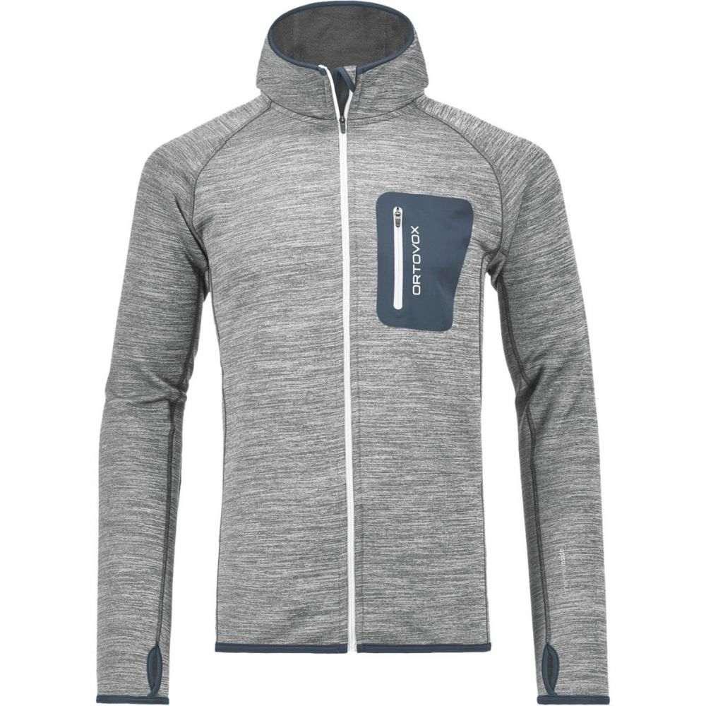 オルトボックス Ortovox メンズ トップス フリース【Melange Hooded Fleece Jackets】Grey Blend
