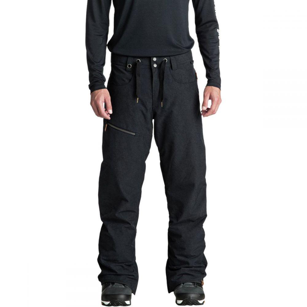 クイックシルバー Quiksilver メンズ スキー・スノーボード ボトムス・パンツ【Forest Oak Pants】Black