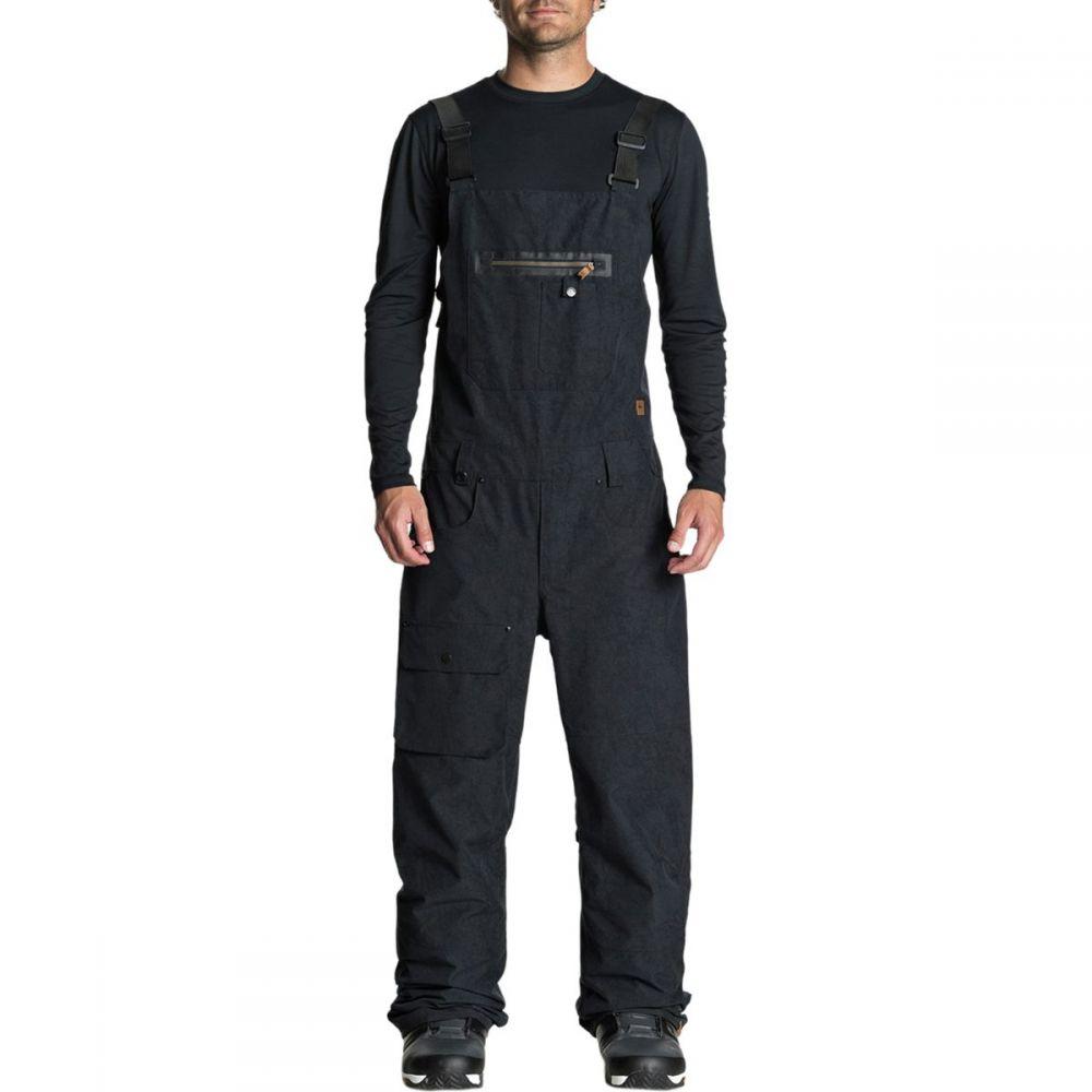クイックシルバー Quiksilver メンズ スキー・スノーボード ボトムス・パンツ【Found Bib Pants】Black