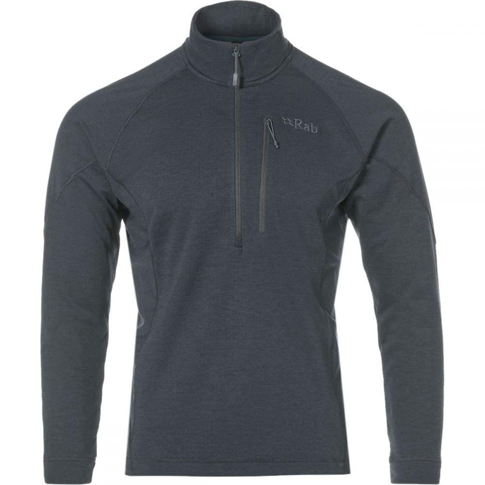 ラブ Rab メンズ トップス フリース【Nucleus Pull - On Fleece Jackets】Steel