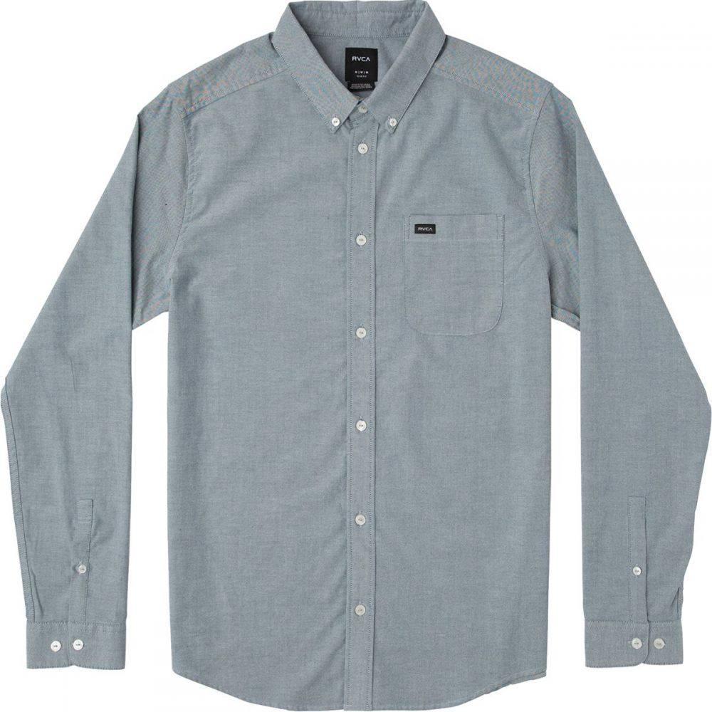 ルーカ RVCA メンズ トップス シャツ【That'll Do Stretch Long - Sleeve Shirts】Seattle Blue