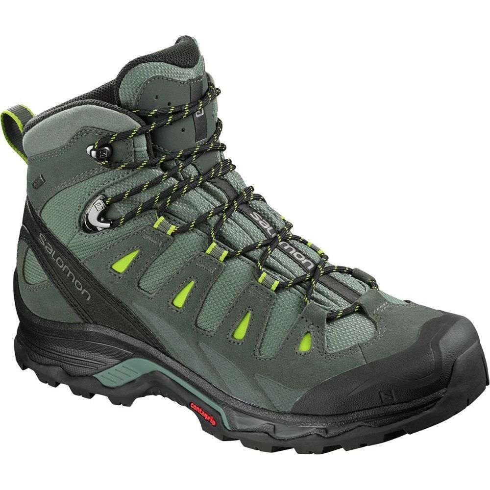 サロモン Salomon メンズ ハイキング・登山 シューズ・靴【Quest Prime GTX Hiking Boots】Balsam Green/Urban Chic/Lime Green