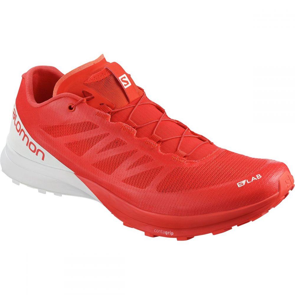 サロモン Salomon メンズ ランニング・ウォーキング シューズ・靴【S - Lab Sense 7 Trail Running Shoes】Racing Red/White/White