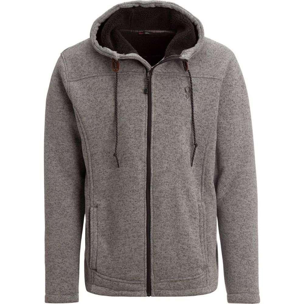 ストイック Stoic メンズ トップス フリース【Sherpa Lined Sweater Fleece Jackets】Charcoal