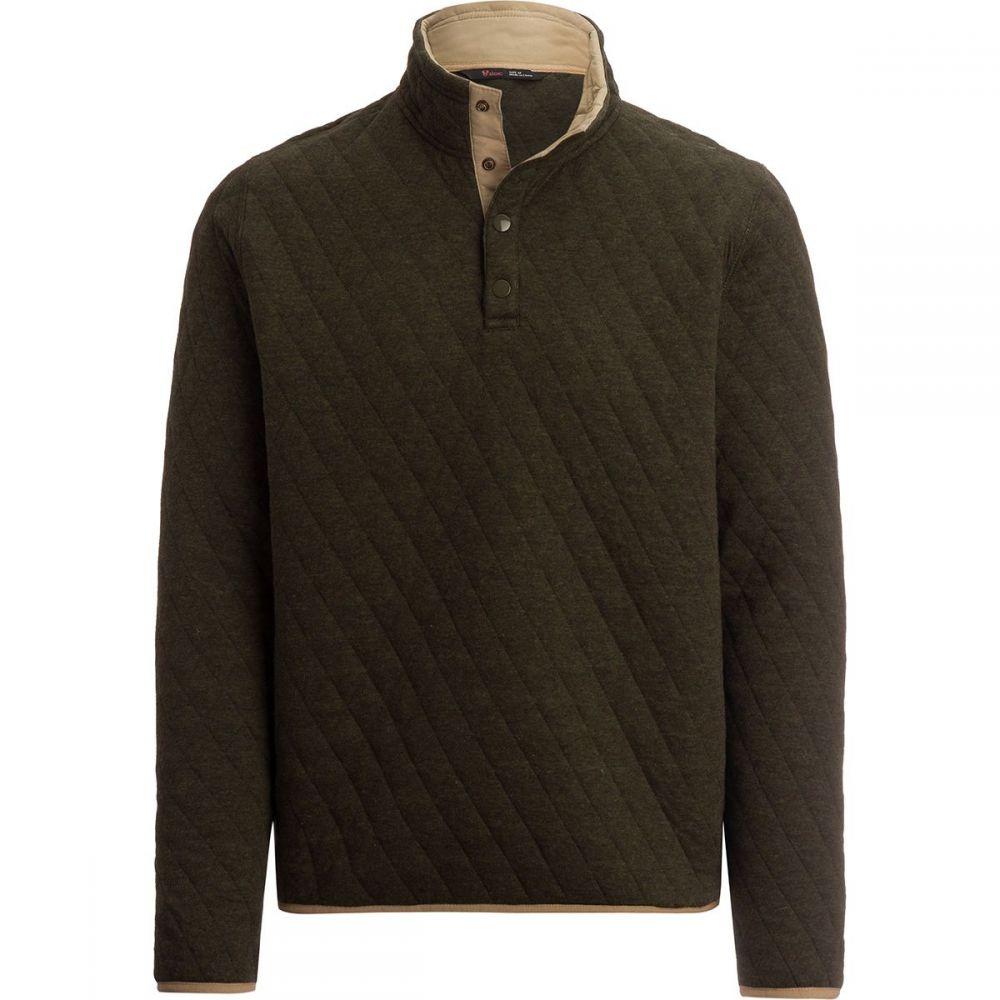 ストイック Stoic メンズ トップス フリース【Quilted Cotton Pullovers】Forest Heather