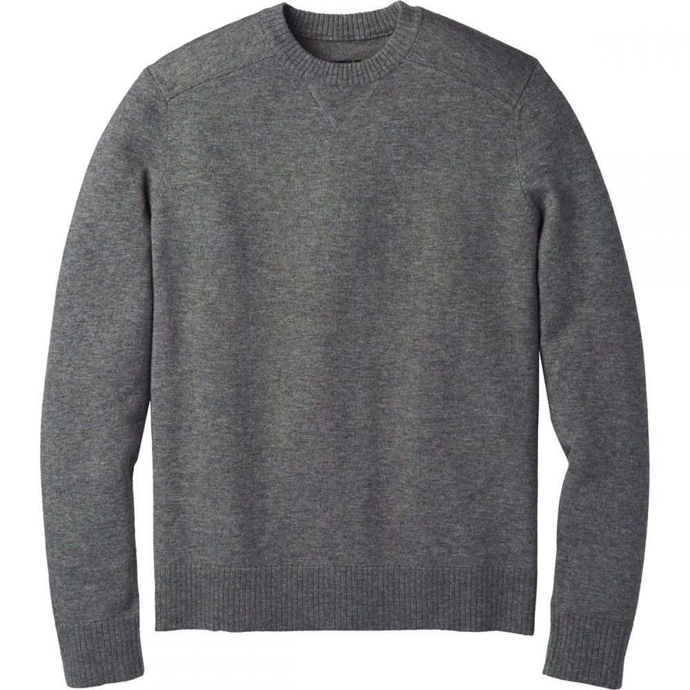 スマートウール Smartwool メンズ トップス ニット・セーター【Sparwood Crew Sweaters】Medium Gray Donegal