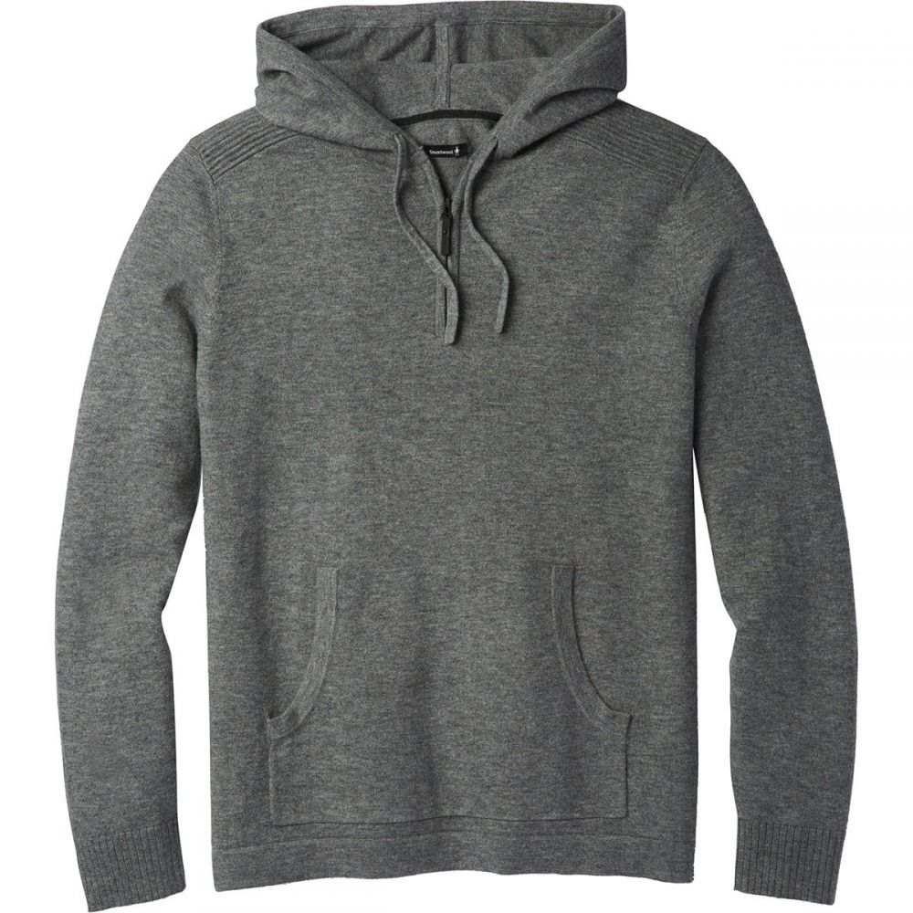 スマートウール Smartwool メンズ トップス ニット・セーター【Hidden Trail Donegal Hooded Sweaters】Medium Gray Donegal
